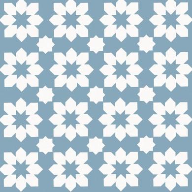 Piastrella Astuce 20 x 20 cm sp. 6.5 mm blu