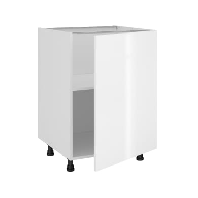 Base Siviglia bianco L 60H 87 x P 58 cm