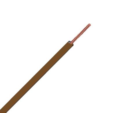 Cavo elettrico marrone fs17  1 filo x 6 mm² ELECTRALINE vendita al metro