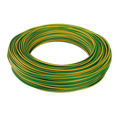 Cavo elettrico giallo/verde fs17  1 filo x 4 mm² 100 m BALDASSARI CAVI Matassa