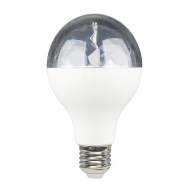 Lampadina LED, E27, Goccia, Trasparente, RGB, 5W=250LM (equiv 5 W), 360° , LEXMAN