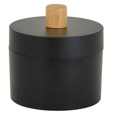 Porta cotone Scandi in plastica nero SENSEA