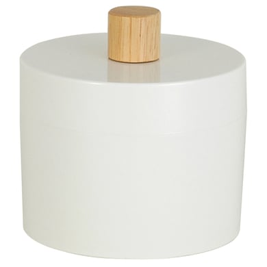 Porta cotone Scandi in plastica bianco SENSEA