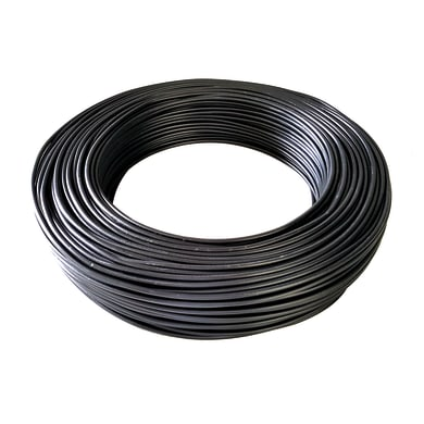 Cavo elettrico nero fs17  1 filo x 1,5 mm² 100 m BALDASSARI CAVI Matassa