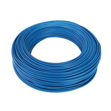 Cavo elettrico blu fs17  1 filo x 10 mm² 100 m BALDASSARI CAVI Matassa