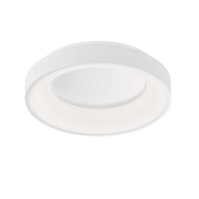 Plafoniera design Shay LED integrato bianco, in metallo,  D. 45 cm 45x45 cm, WOFI