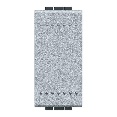 Deviatore Living light BTICINO grigio / argento