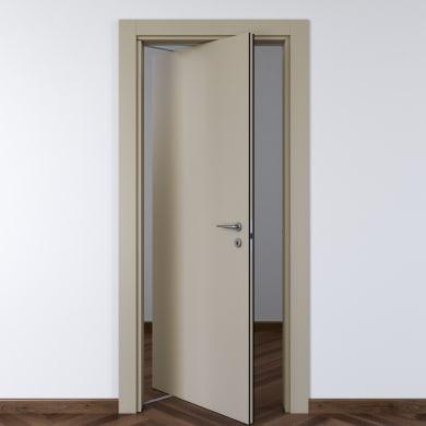 Porta rototraslante Cinder grigio L 70 x H 210 cm sinistra