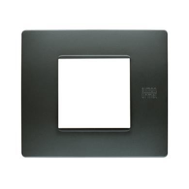 Placca SIMON URMET Nea Flexa 2 moduli antracite
