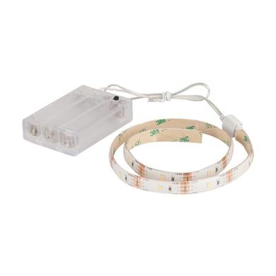 Striscia led 0.5m luce bianco caldo 100LM IP20 INSPIRE