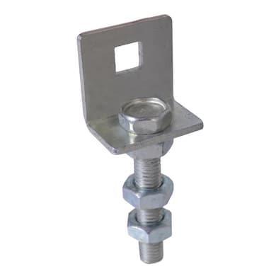 Supporto MTPR03W in alluminio L 3.5 x H 9 x P 2.5 cm