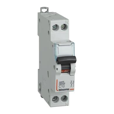 Interruttore magnetotermico BTICINO FN881C10 1P +N 6A 6kA C 1 modulo