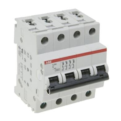 Interruttore magnetotermico ABB ELS204-C25 3P +N 25A 6kA C 4 moduli 230V