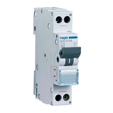 Interruttore magnetotermico HAGER HAGMYN532 1P+N 32A 4.5kA C 2 moduli 230V