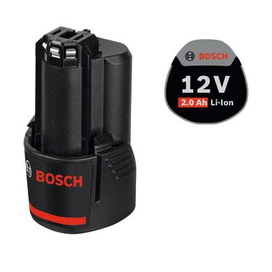Batteria BOSCH GBA10.8 in litio 12 V 2 Ah