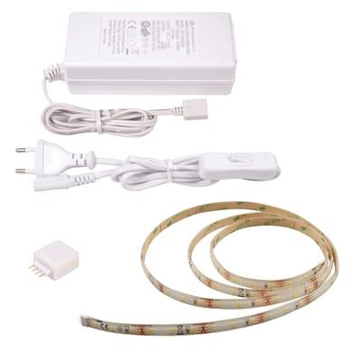 Striscia led Noname 1.5m luce bianco caldo 400LM IP20 INSPIRE