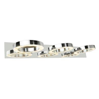 Applique Circey in metallo, 57x18.5 cm, LED integrato 4W 380LM IP21 INSPIRE