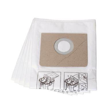 Sacco filtro carta 25 L 5 pezzi
