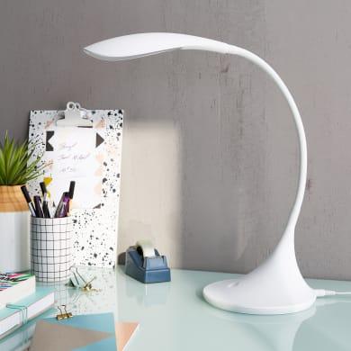 Lampada da scrivania Design flessibile Pico bianco , INSPIRE