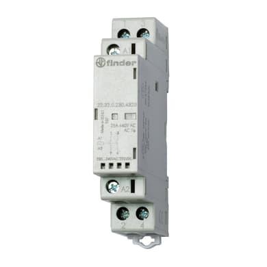Contattore FINDER 223200124320 25A 1 modulo 12V