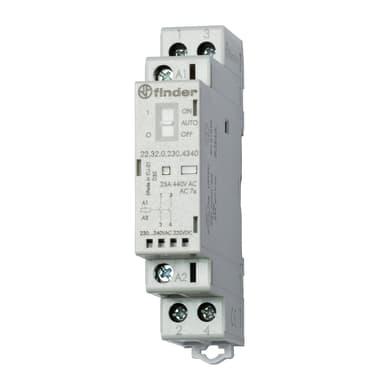 Contattore FINDER 223200124520 25A 1 modulo 12V