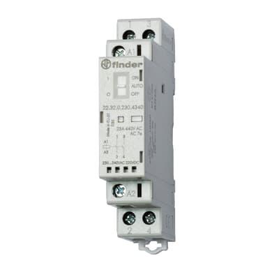 Contattore FINDER 223202304420 25A 1 modulo 230V