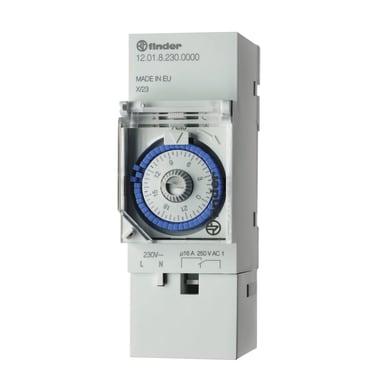 Interruttore orario analogico 120182300000MMM FINDER 2 moduli