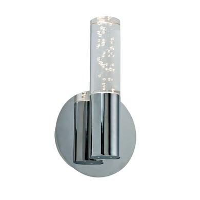 Applique Bula cromo, in metallo, 13x23.2 cm, LED integrato 5W 350LM IP20 INSPIRE