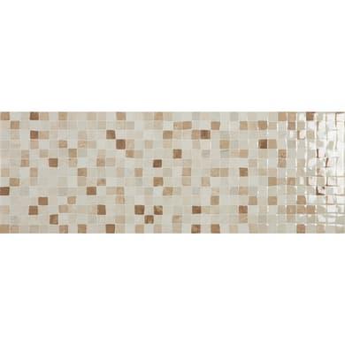 Piastrella per rivestimenti Venezia 25 x 70 cm sp. 8.5 mm marrone