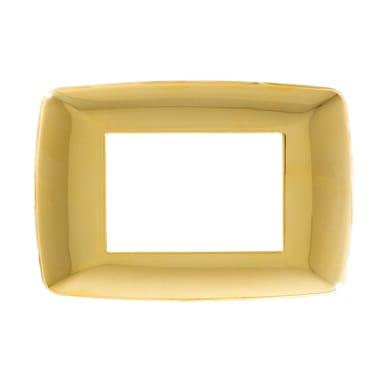 Placca Flexi Brio FEB 3 moduli oro