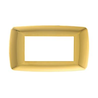 Placca FEB Flexi Brio 4 moduli oro