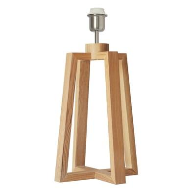 Base per lampada Sachi marrone, H 47 cm, E27 MAX60W
