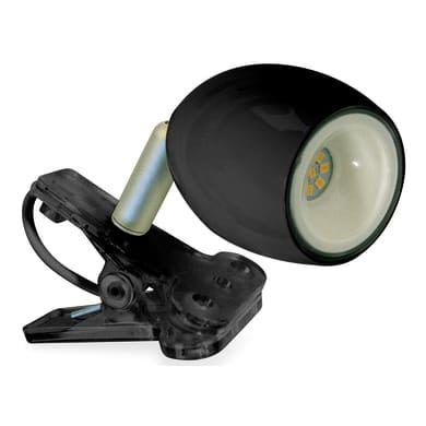Lampada da scrivania Kikiled nero, in acciaio, LED integrato 2W
