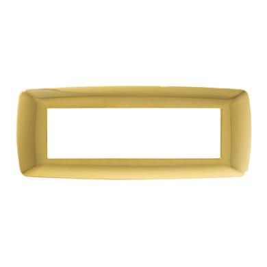 Placca FEB Flexi Brio 7 moduli oro