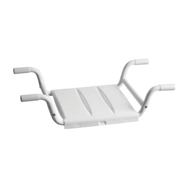 Sedile per vasca Medium in inox bianco