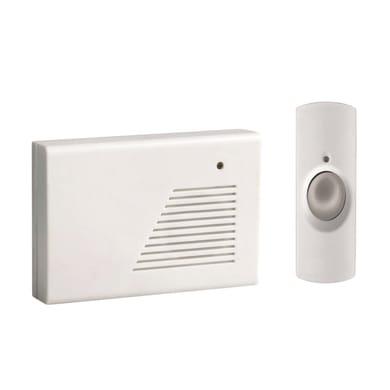 Campanello senza filo SYSTEC 11935714 bianco