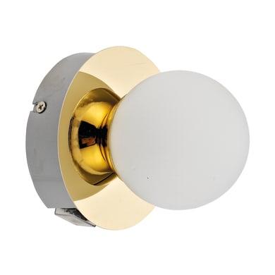 Applique Kapi oro, in metallo, LED incassato 5W IP44 INSPIRE