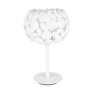 Lampada da comodino Dioniso bianco, in metallo, E27 2xMAX 42W IP20