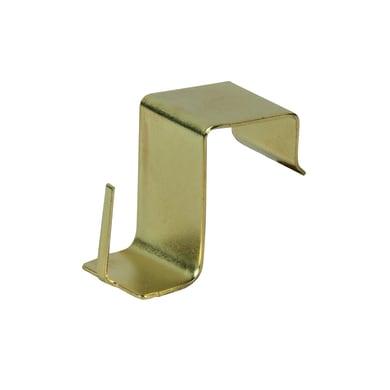 Supporto da serramento oro lucido, 4 pezzi
