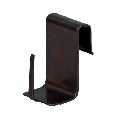 Supporto da serramento bronzo lucido, 4 pezzi