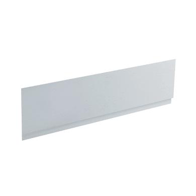 Pannello di rivestimento vasca frontale Egeria acrilico bianco L 160 x H 50 cm