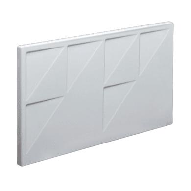Pannello di rivestimento vasca frontale Egeria acrilico bianco L 60 x H 33 cm