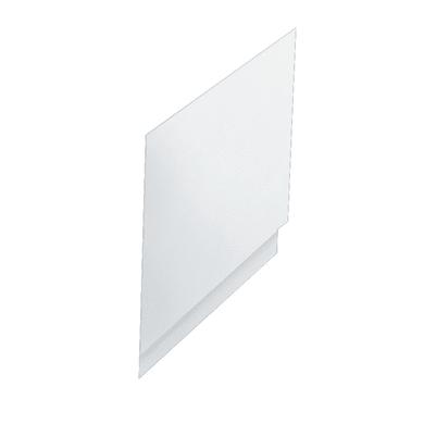 Pannello di rivestimento vasca laterale Egeria acrilico bianco L 80 x H 50 cm