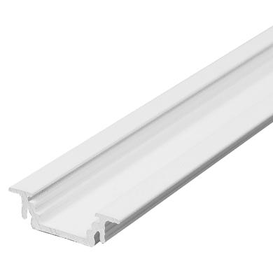 Profilo per strisce led, bianco, 2 m