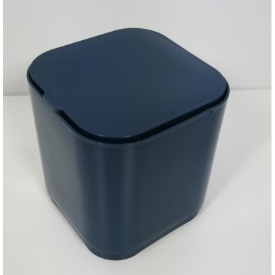 Pattumiera da bagno manuale GEDY Blu 1 Lin plastica