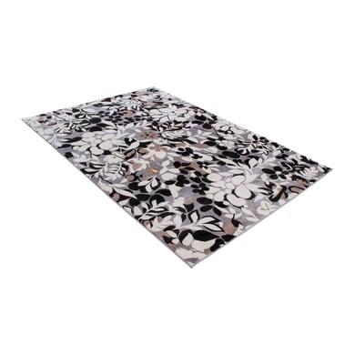 Tappeto Soave soft trace , nero, 160x230