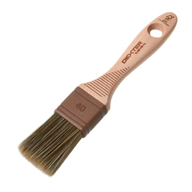 Pennello Piatto 40 mm per Olio, vernice, impregnante legno DEXTER PRO