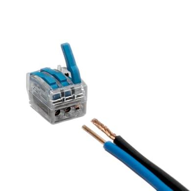 Morsetto di connessione 2.5 mm² confezione da 3 pezzi