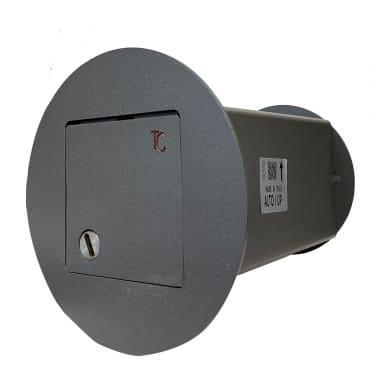 Cassaforte nascosta Blindino 110 da murare L11 x P21 x H11 cm
