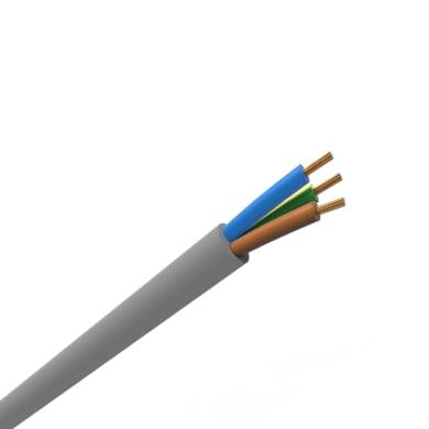 Cavo elettrico 3 fili x 4 mm² vendita al metro grigio